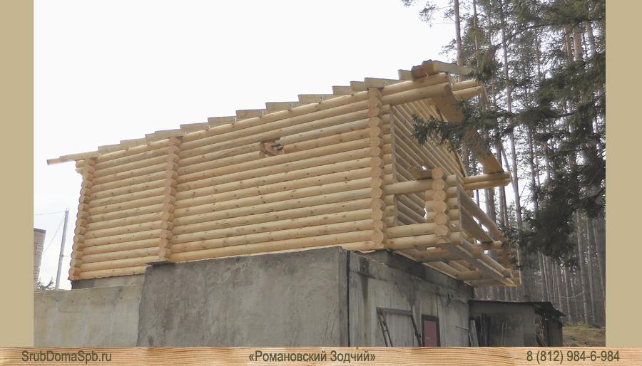 Романовский Зодчий срубы домов и бань пиломатериалы